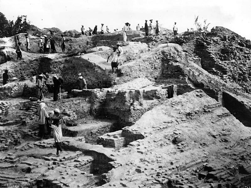 Mohanjo Daro Excavation