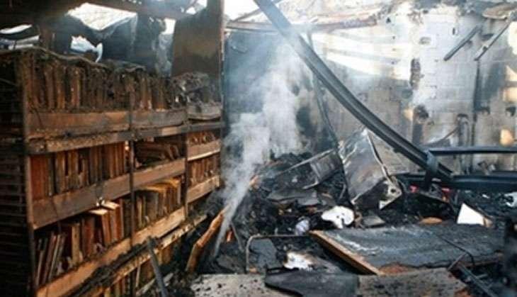 Attack on Nalanda University's Library