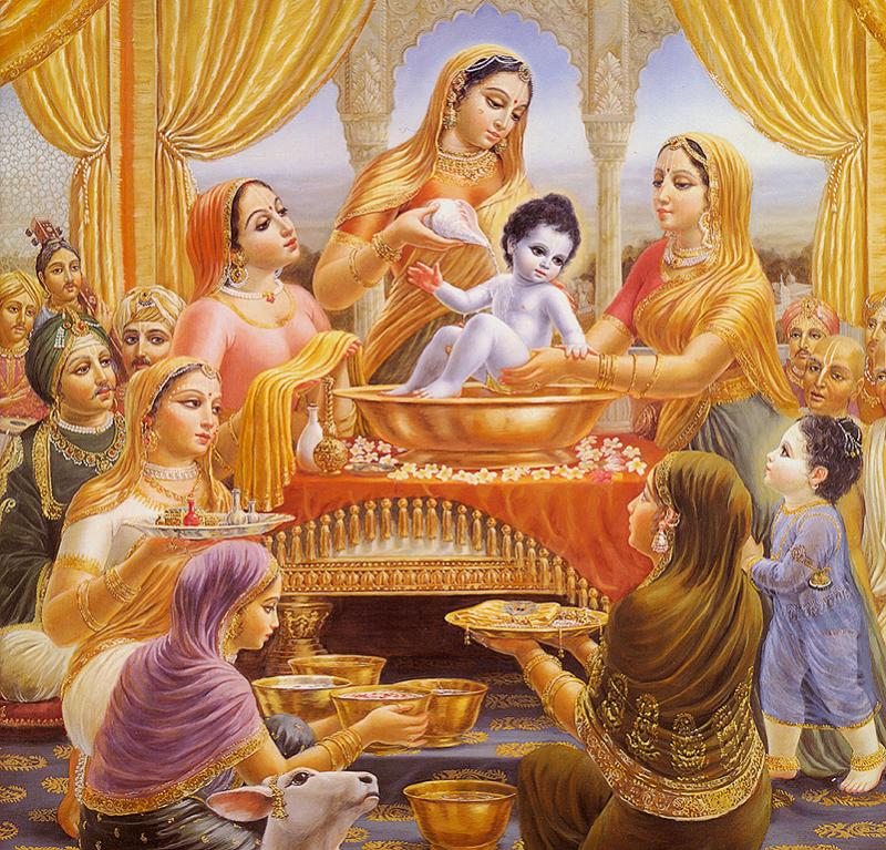 Lord Krishna Family