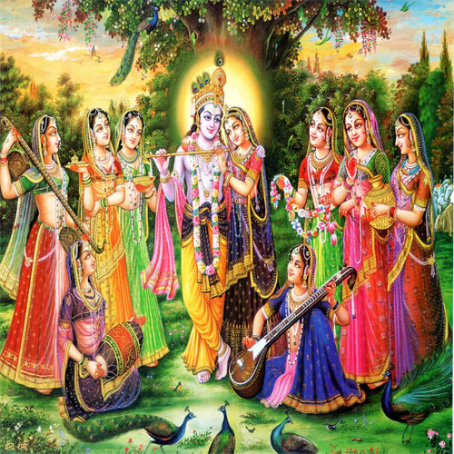 Lord Krishna Wives