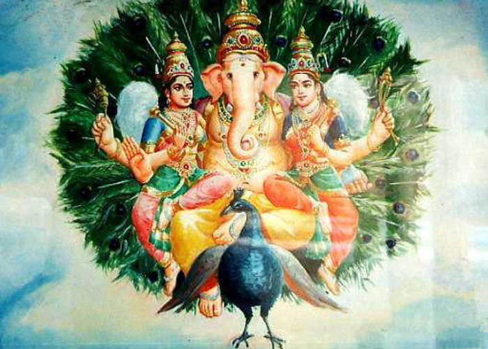 Lord Ganesha Wives