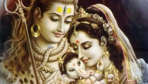 Lord Vinayaka Family